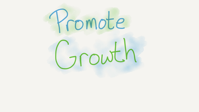Promoting growth