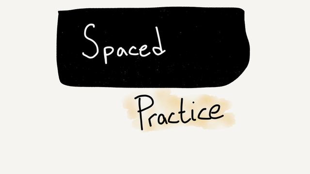 Spaced practice